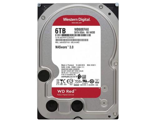 HDD 6Tb Western Digital RED WD60EFAX