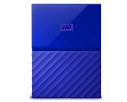 Внешний HDD Western Digital 2Tb My Passport (WDBUAX0020BBL-EEUE)