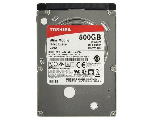 500Gb TOSHIBA HDWK105UZSVA