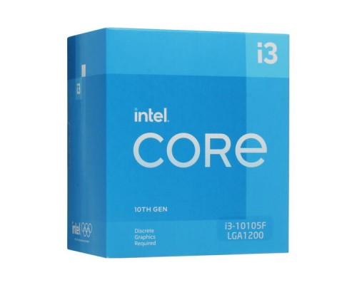 CPU Intel Core i3-10105F Box