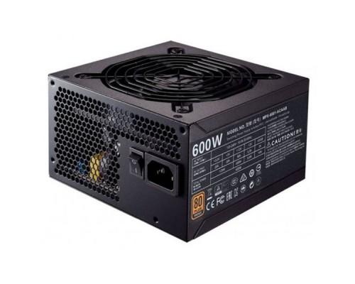 Блок питания CoolerMaster MWE 600 BRONZE (MPE-6001-ACAAB)