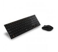 Комплект беспроводной клавиатура+мышь Rapoo 9060 черный