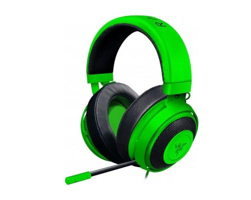 Игровая гарнитура Razer Kraken Pro V2 Oval Green (3,5мм)