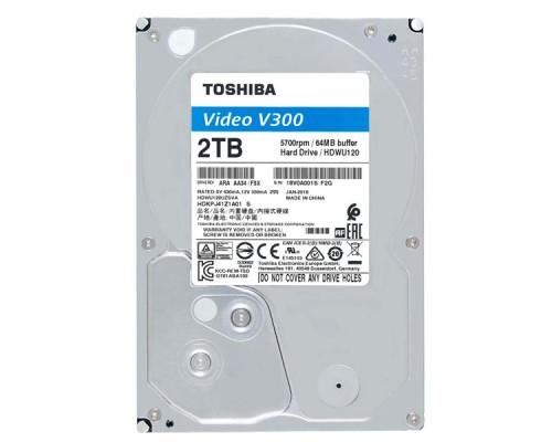 HDD 2Tb TOSHIBA V300 HDWU120UZSVA