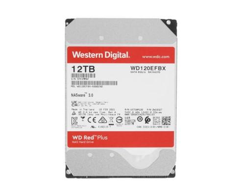 HDD 12Tb Western Digital RED Plus WD120EFBX