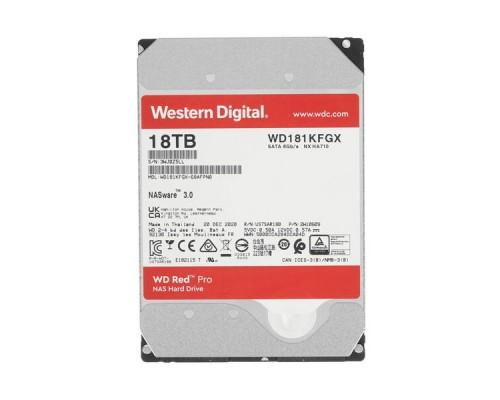 HDD 18Tb Western Digital Red PRO (WD181KFGX)