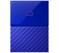 Внешний HDD Western Digital 4Tb My Passport WDBUAX0040BBL-EEUE