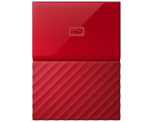 Внешний HDD Western Digital 4Tb My Passport WDBUAX0040BRD-EEUE