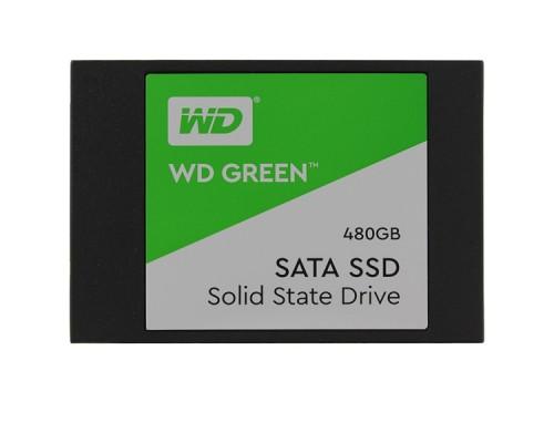 SSD 480GB WD Серия GREEN WDS480G2G0A