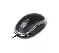 Мышь проводная Zwerg Maus черная
